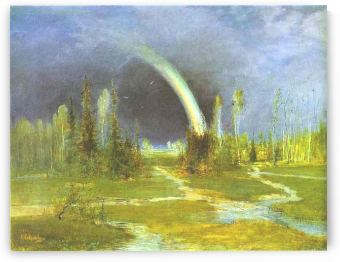 Rainbow by Alexei Kondratyevich Savrasov