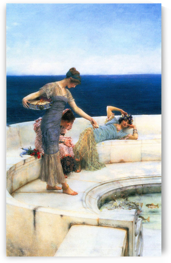 Silver Favorites by Alma-Tadema by Alma-Tadema