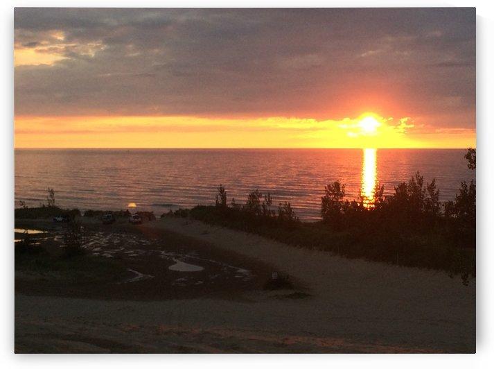 Lake Michigan Sunset 4 by Ohio In Print