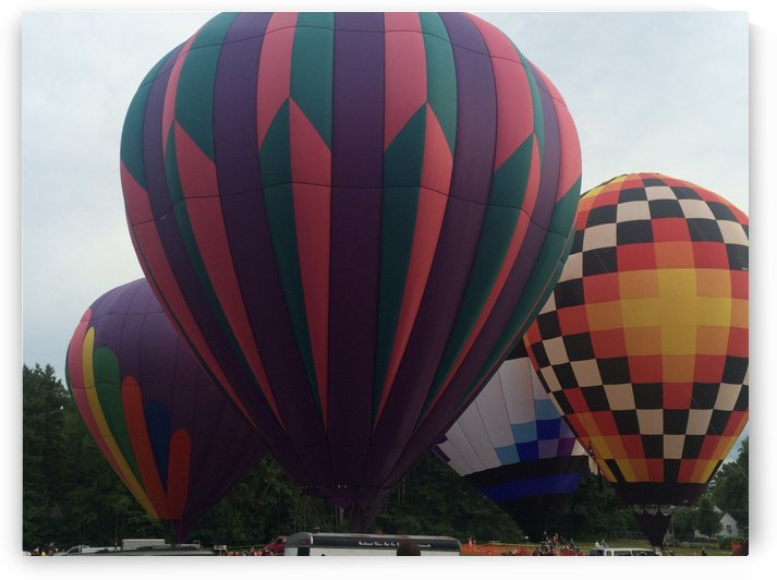 Hot Air Ballons by Ohio In Print