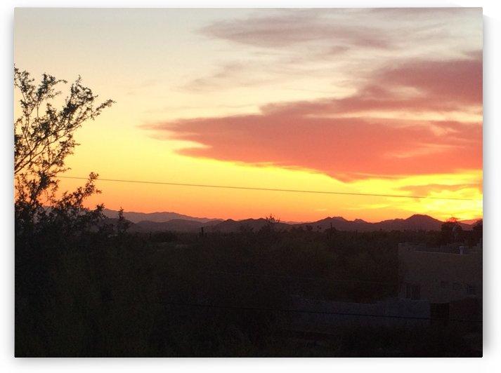 Arizona Sunset 2 by Ohio In Print
