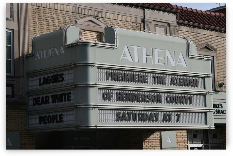 Athena Cinema by Ohio In Print