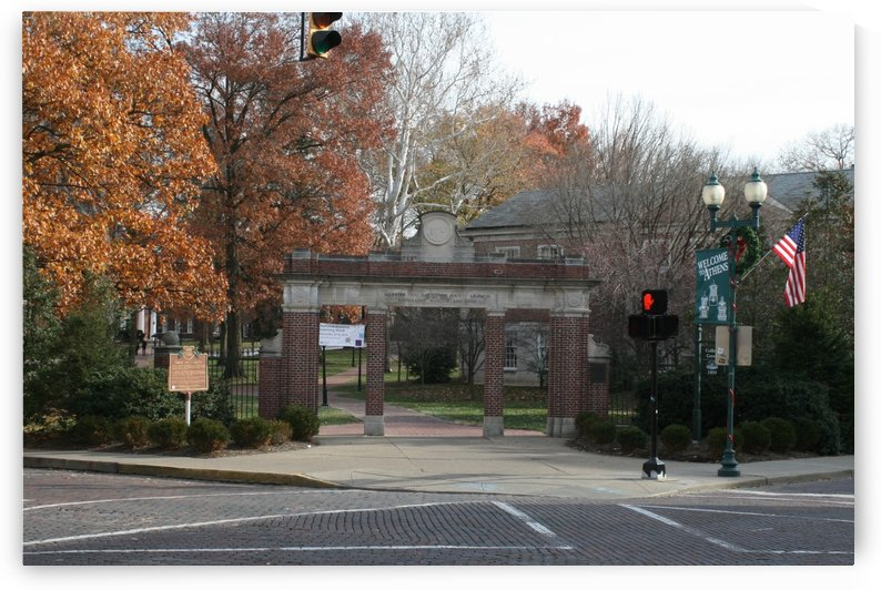 College Green - class gate by Ohio In Print