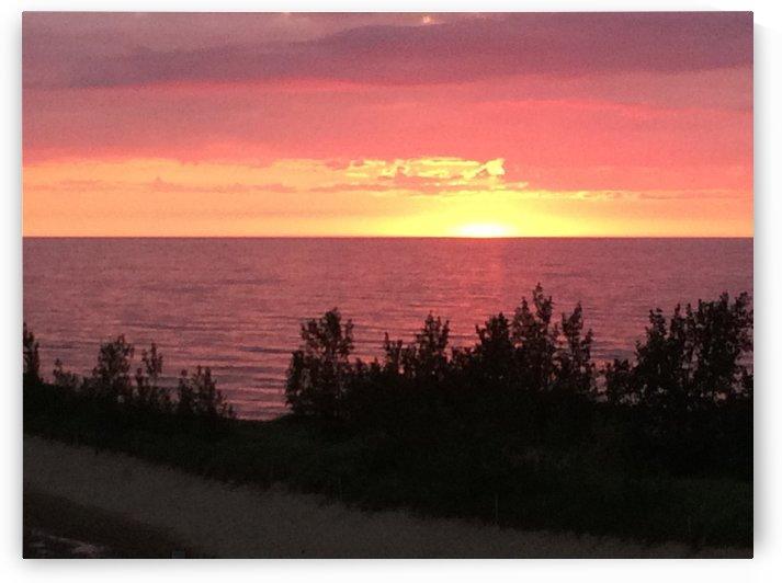 Lake Michigan Sunset by Ohio In Print