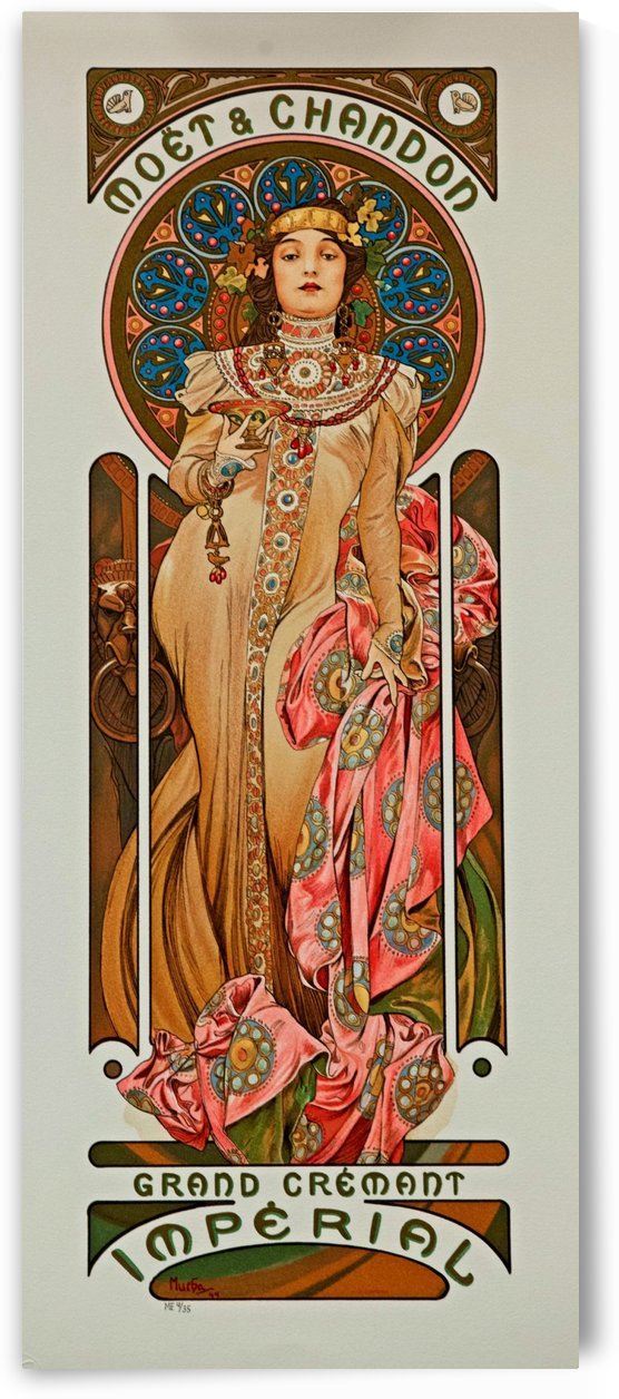 Grand Crement Imperial by Alphonse Mucha