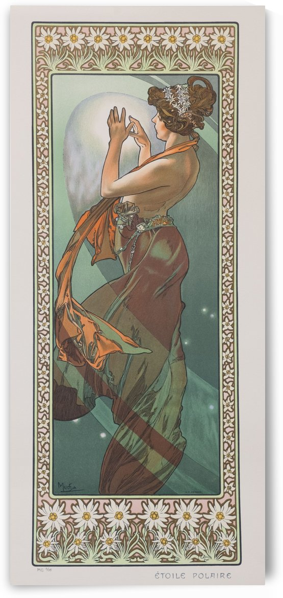 North Star by Alphonse Mucha