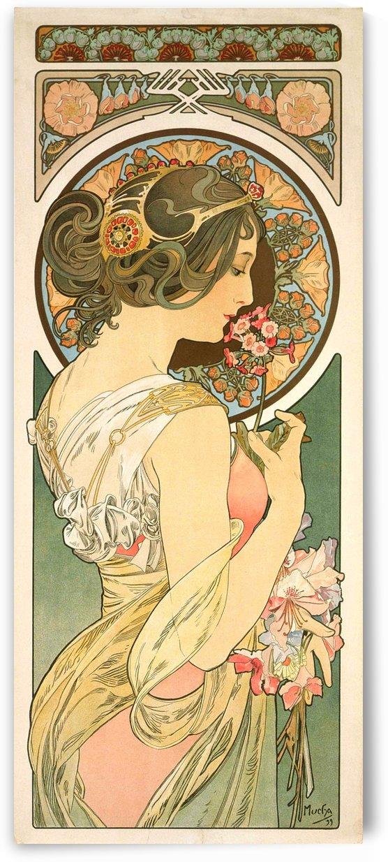 Primrose by Alphonse Mucha