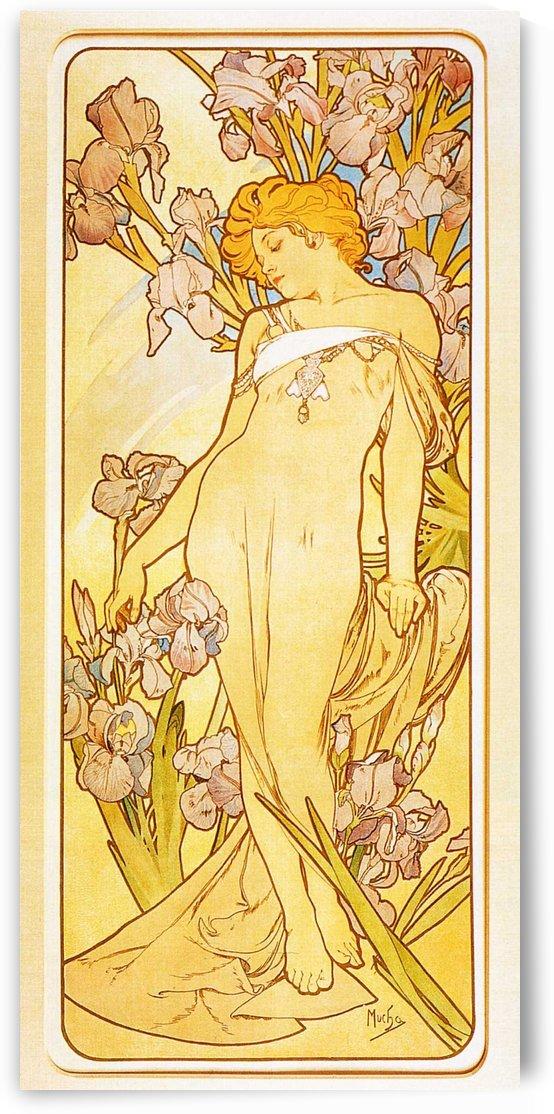 Iris by Alphonse Mucha