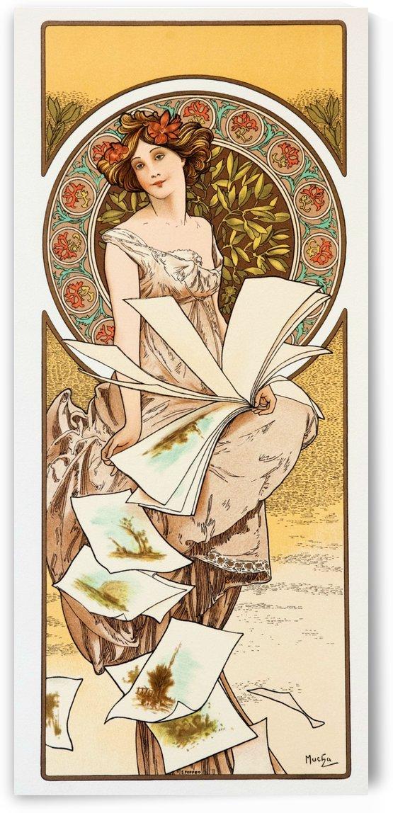 Champenois Calendar by Alphonse Mucha