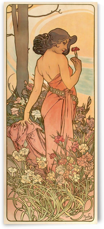 Les Fleurs by Alphonse Mucha