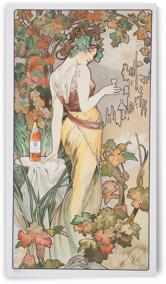Cognac Bisquit by Alphonse Mucha