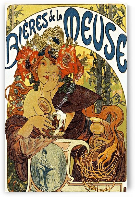 Bbieres De La Muse by Alphonse Mucha