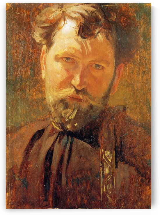 Self-Portrait, 1899 by Alphonse Mucha