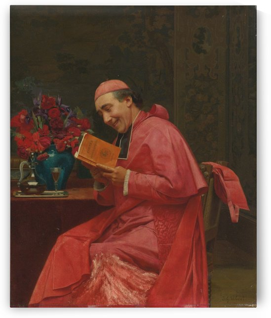 An amusing lecture by Jehan Georges Vibert