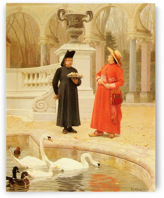 Life of the Clergy by Jehan Georges Vibert