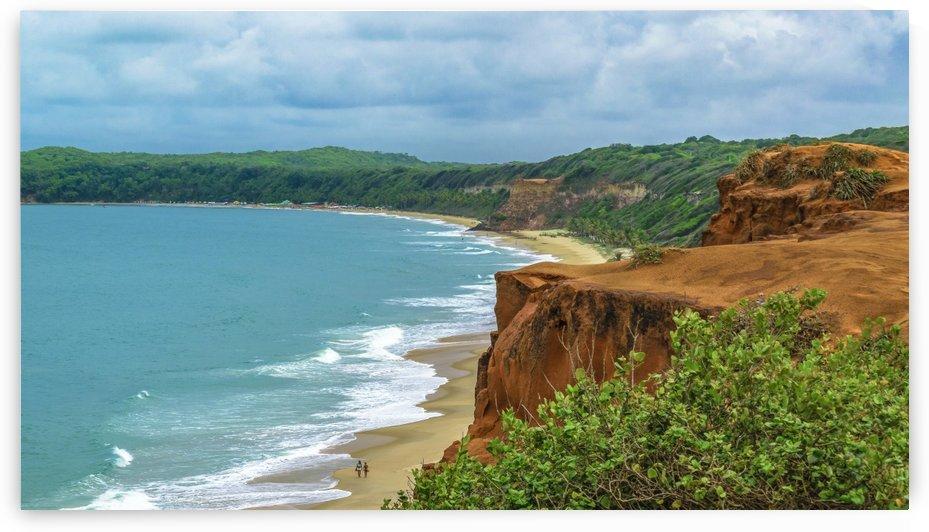 Aerial Seascape Scene Pipa Brazil by Daniel Ferreia Leites Ciccarino