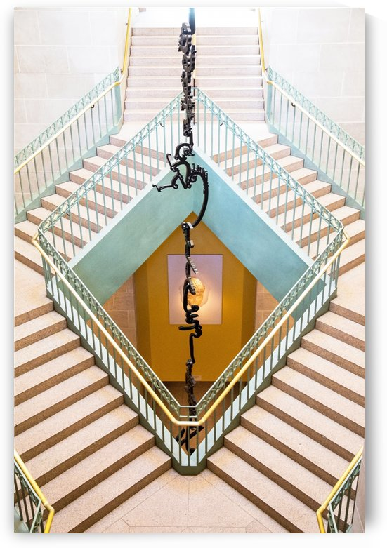 Staircase Symetry by John Foster