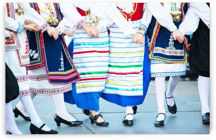 Greek Dancers 2 by John Foster