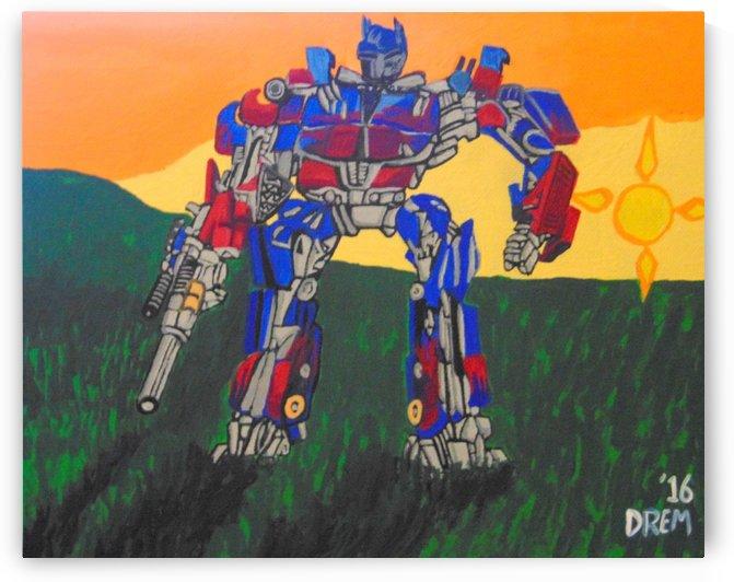 Optimus Prime  by lightsavour