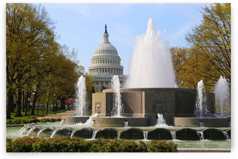 Congressional Fountain by John Foster