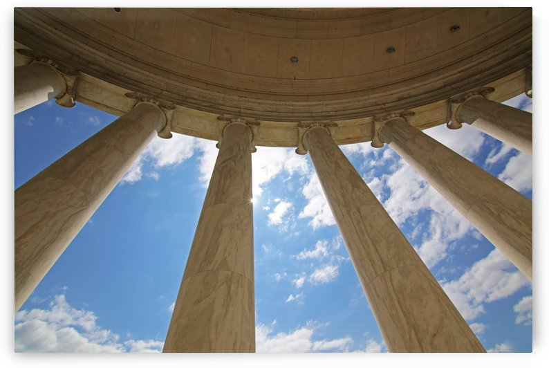 Columns And Sky by John Foster