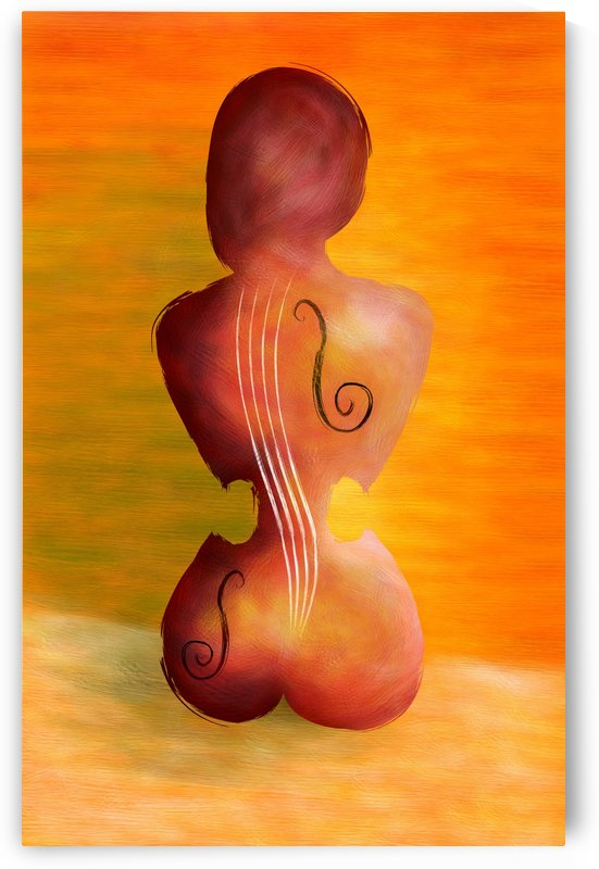 Vioseussa V1 - violin lady by Cersatti Art