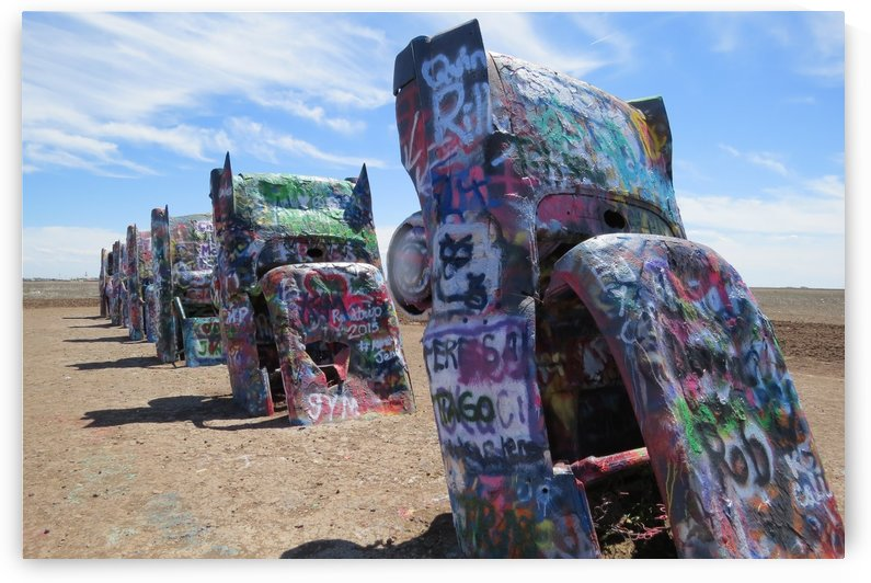 Cadillac Ranch VP2 by Vicki Polin