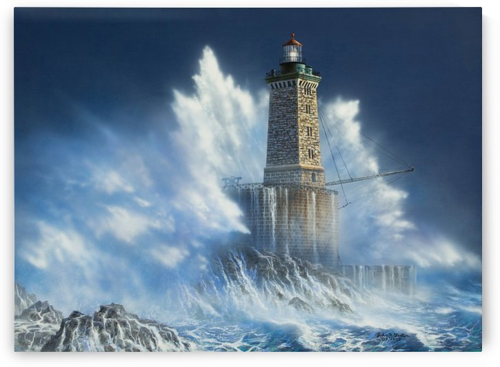 St George Reef Lighthouse by John Foster