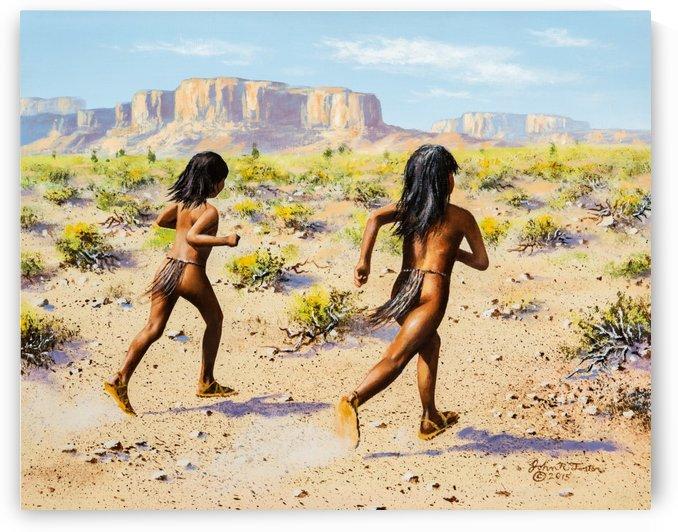 Desert Racers by John Foster