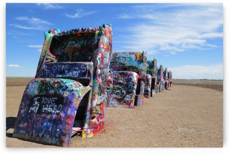 Cadillac Ranch VP1 by Vicki Polin