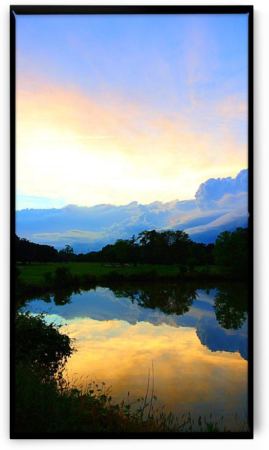 Cloudy Reflections  by Sher Daw