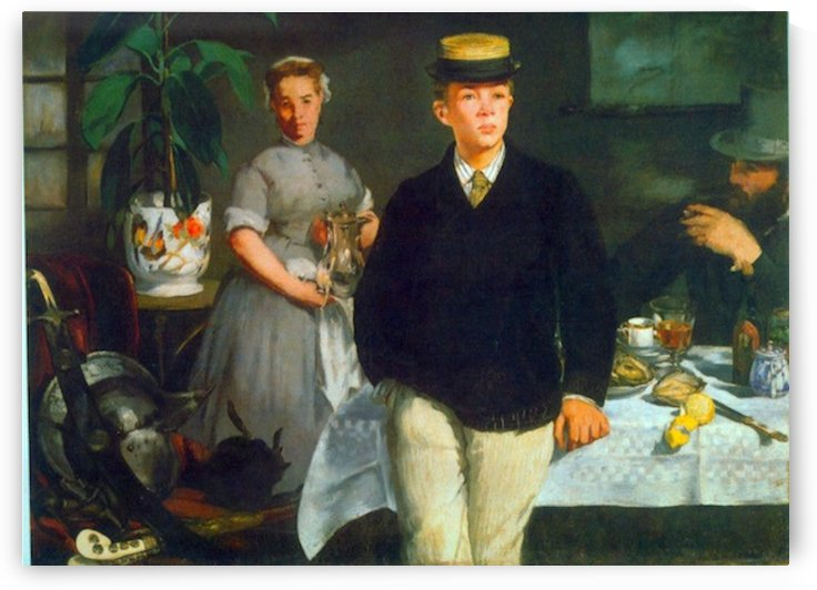 Luncheon by Manet by Manet