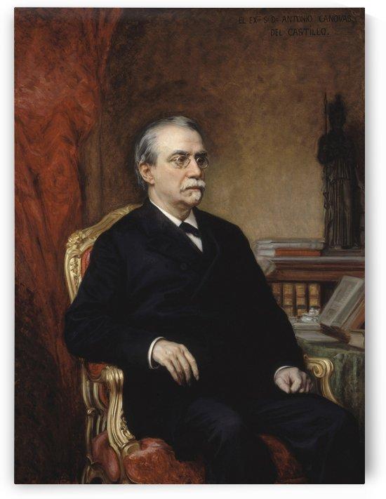 Retrato de D. Antonio Cánovas del Castillo by Ricardo de Madrazo y Garreta