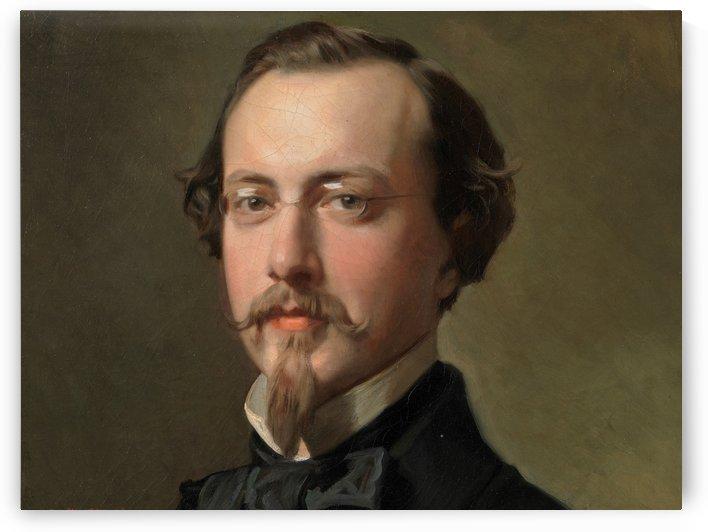 El pintor Benito Soriano Murillo by Ricardo de Madrazo y Garreta