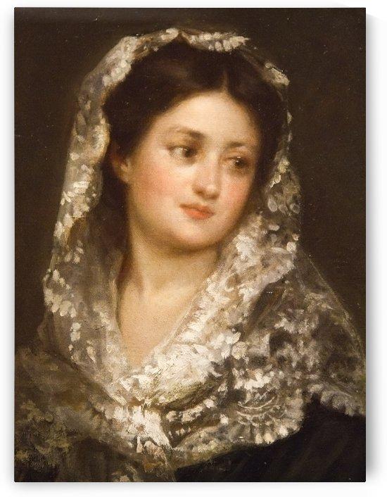 Isabel by Ricardo de Madrazo y Garreta