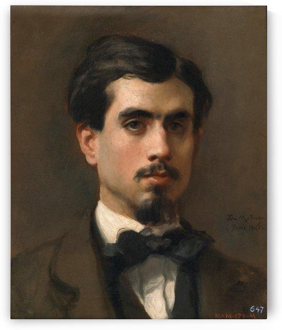 El pintor Juan Rivas by Ricardo de Madrazo y Garreta