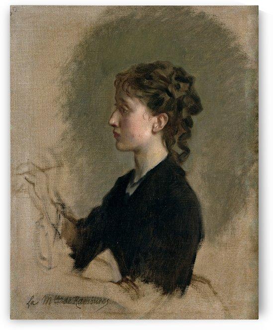 Louise Amour Marie de la Roche-Fontenilles by Ricardo de Madrazo y Garreta