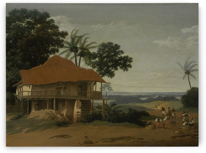 A worker's house by Frans Janszoon Post