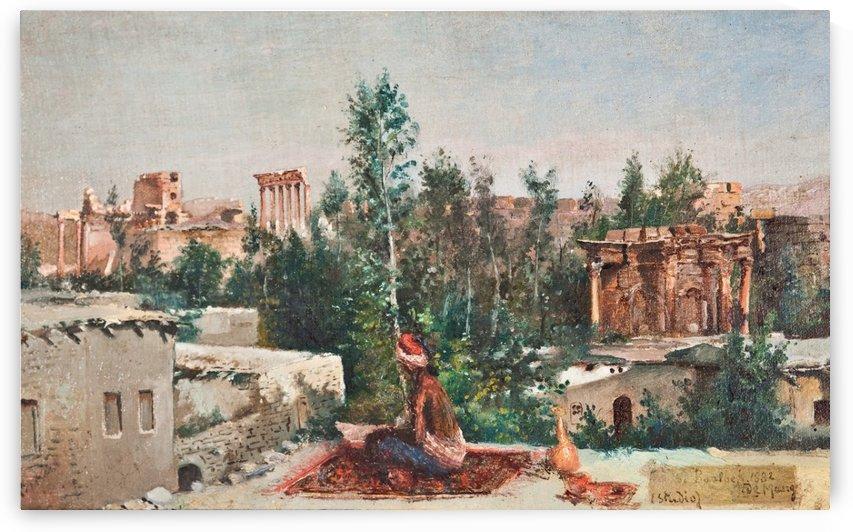 Baalbek ruins, Lebanon by Leonardo de Mango