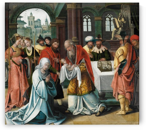 The Presentation of Jesus in the Temple by Pieter Coecke van Aelst