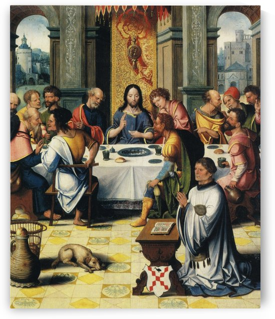 The last supper by Pieter Coecke van Aelst