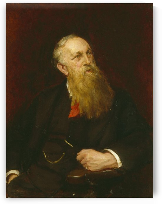 Henry Mayers Hyndman by Sydney Prior Hall
