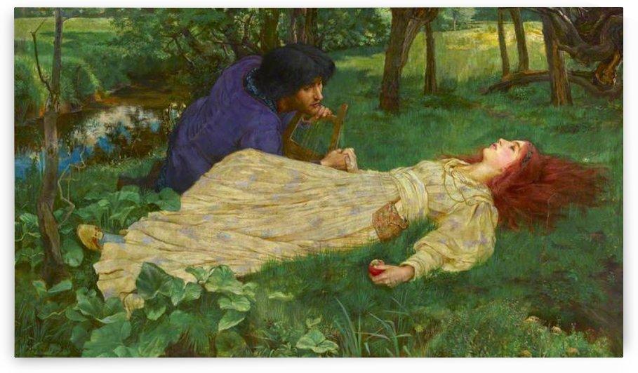 Sleeping beauty by John Byam Liston Shaw