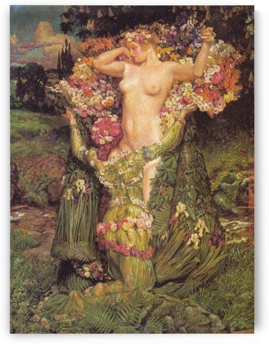 Rising Spring by John Byam Liston Shaw