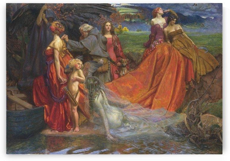 Pilgrim Fair Autumn by John Byam Liston Shaw
