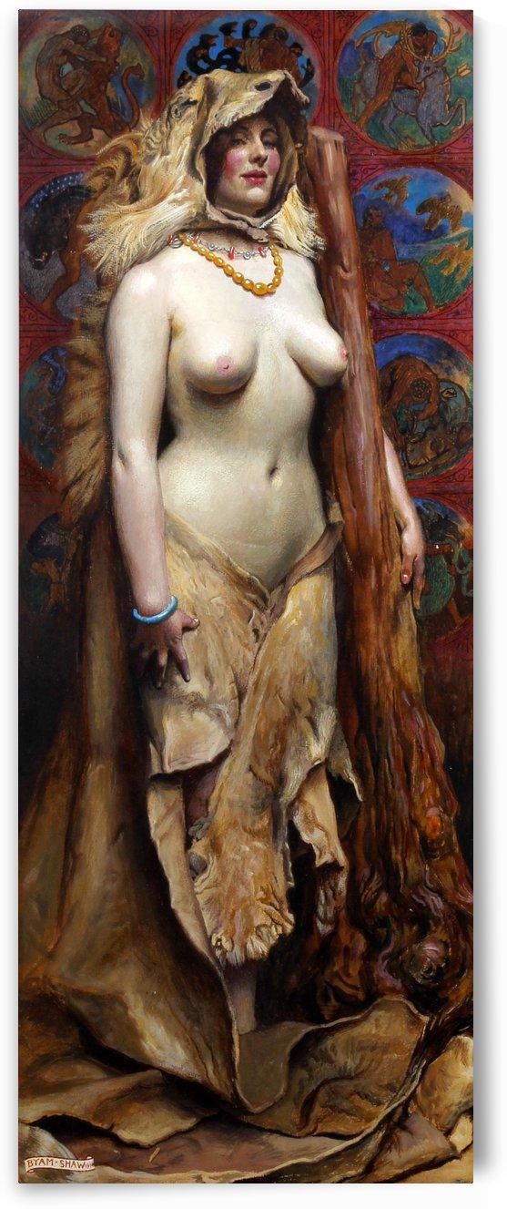 Omphale, 1914 by John Byam Liston Shaw