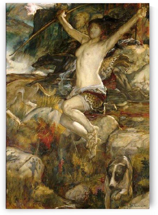 Diana of the Hunt by John Byam Liston Shaw