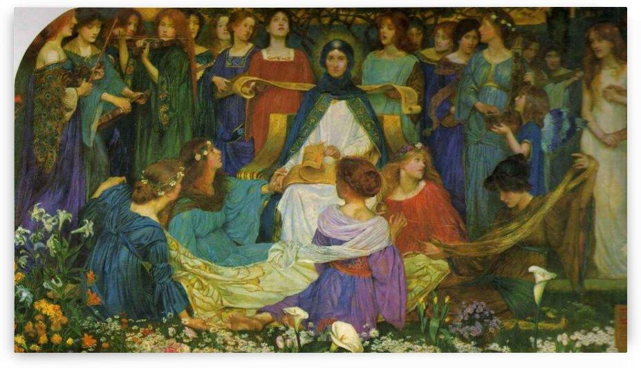 Blessed Damozel by John Byam Liston Shaw
