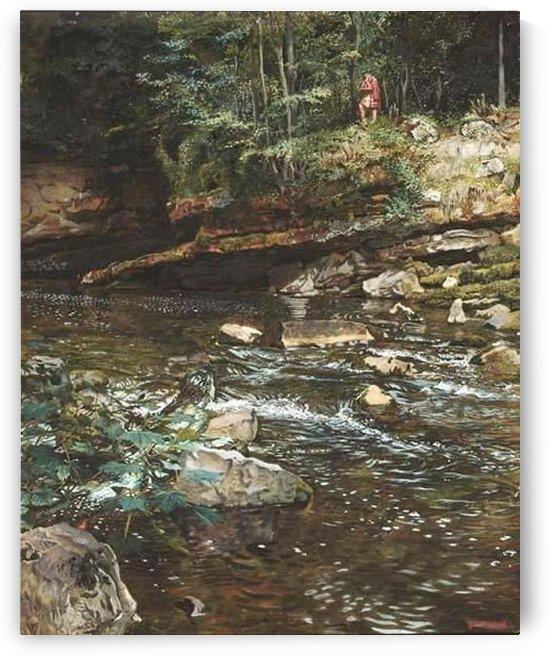 The Kelpie and the Highlander by John Byam Liston Shaw