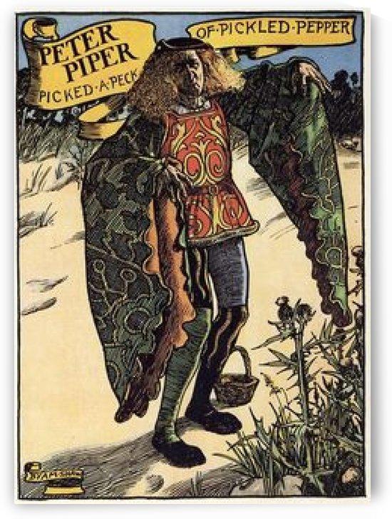 Peter Piper by John Byam Liston Shaw